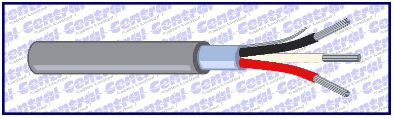 B03) Alt. Belden 22-16awg 3-4 core CAT screened
