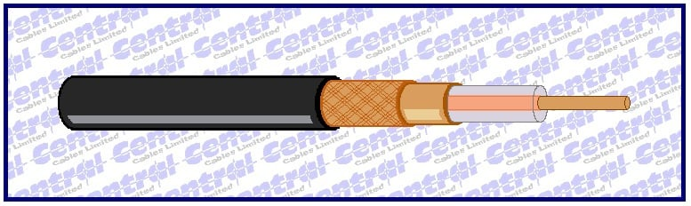 CT coaxial cable image