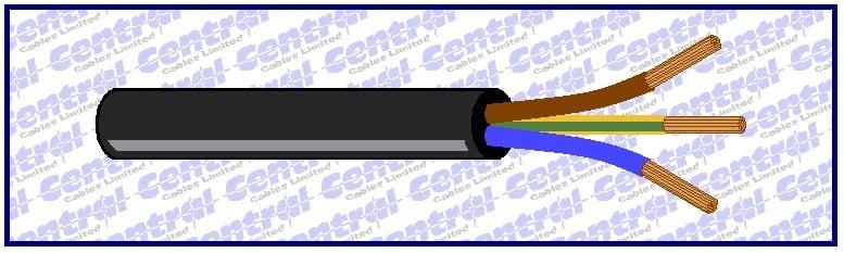 H07ZZ-F rubber LSZH single-multicore flex