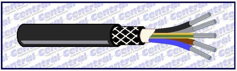 NSHtou drum reeling rubber cable image