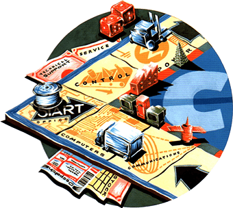 Industry monopoly board