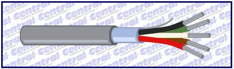 Multicore 24awg overall foil RS232 Belden alternative
