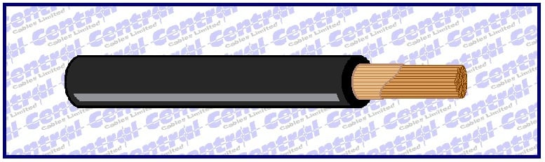 H01N2D black PCP neoprene welding cable image