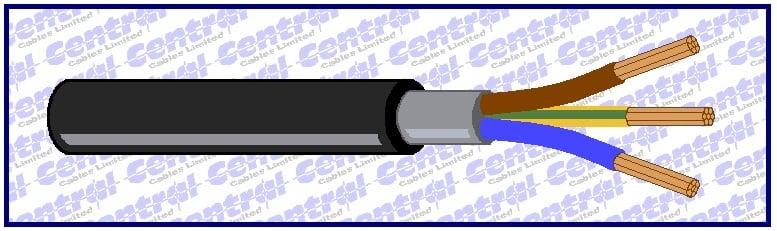 N2XH 1kV LSZH power cable image