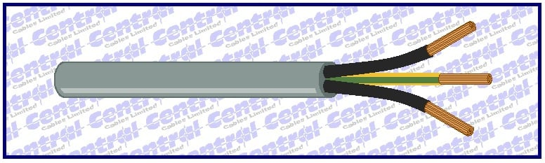PUR-JZ or PUR-OZ grey polyurethane control flex