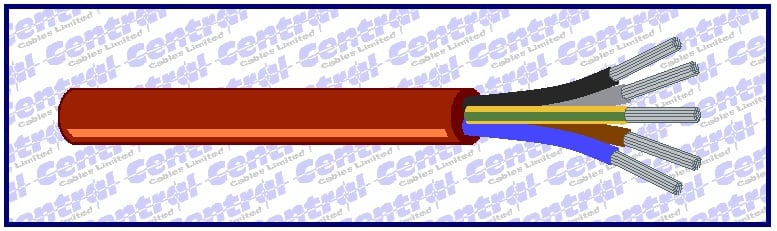 SIHF flexible multicore silicone cable image