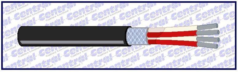 PRT/RTD 4 core TCWB PVC